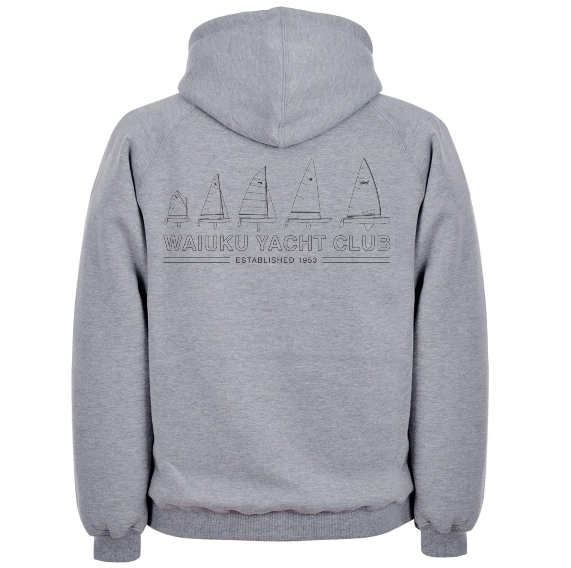 WYC Hoodie Greymarle - Back